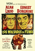 The Badlanders - Argentinian Theatrical poster (xs thumbnail)