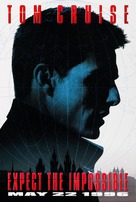 Mission: Impossible - Advance movie poster (xs thumbnail)