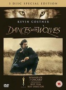 Dances with Wolves - British DVD cover (xs thumbnail)