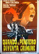 Les tueurs fous - Italian Movie Poster (xs thumbnail)