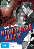 Nightmare Alley - Australian DVD cover (xs thumbnail)