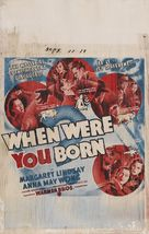 When Were You Born - Movie Poster (xs thumbnail)