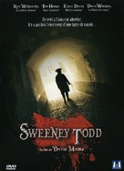 Sweeney Todd - French DVD movie cover (xs thumbnail)