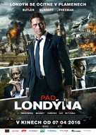 London Has Fallen - Czech Movie Poster (xs thumbnail)