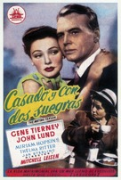 The Mating Season - Spanish Movie Poster (xs thumbnail)
