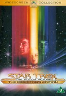 Star Trek: The Motion Picture - British DVD movie cover (xs thumbnail)