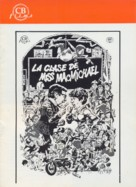 The Class of Miss MacMichael - Spanish DVD cover (xs thumbnail)