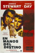The Man Who Knew Too Much - Argentinian Theatrical movie poster (xs thumbnail)