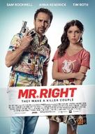Mr. Right - Swedish Movie Poster (xs thumbnail)
