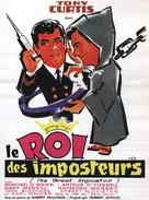 The Great Impostor - French Movie Poster (xs thumbnail)