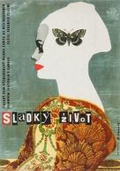 La dolce vita - Czech Movie Poster (xs thumbnail)