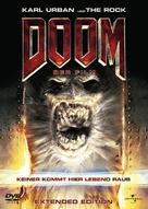 Doom - German DVD cover (xs thumbnail)