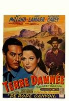 Copper Canyon - Belgian Movie Poster (xs thumbnail)