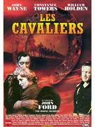 The Horse Soldiers - French DVD cover (xs thumbnail)