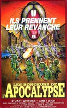 Night of the Lepus - French VHS movie cover (xs thumbnail)