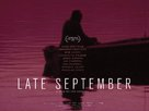 Late September - British Movie Poster (xs thumbnail)