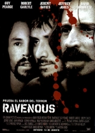 Ravenous - Spanish Movie Poster (xs thumbnail)