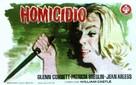 Homicidal - Spanish Movie Poster (xs thumbnail)