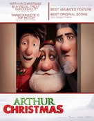 Arthur Christmas - For your consideration poster (xs thumbnail)