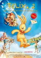 Felix 2 - Der Hase und die verflixte Zeitmaschine - German poster (xs thumbnail)
