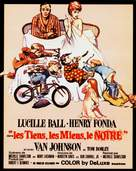 Yours, Mine and Ours - French Movie Poster (xs thumbnail)