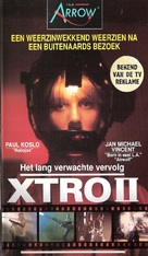 Xtro II: The Second Encounter - Dutch VHS cover (xs thumbnail)
