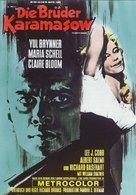 The Brothers Karamazov - German Movie Poster (xs thumbnail)
