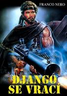 Django 2: il grande ritorno - Czech DVD cover (xs thumbnail)