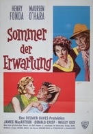 Spencer's Mountain - German Movie Poster (xs thumbnail)