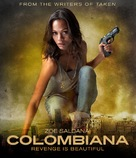 Colombiana - Blu-Ray movie cover (xs thumbnail)