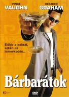 Swingers - Hungarian DVD cover (xs thumbnail)