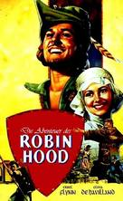 The Adventures of Robin Hood - German VHS cover (xs thumbnail)