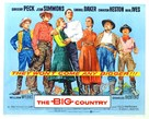 The Big Country - Movie Poster (xs thumbnail)