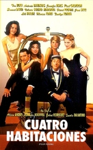 Four Rooms - Argentinian VHS movie cover (xs thumbnail)