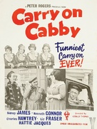 Carry on Cabby - British Movie Poster (xs thumbnail)