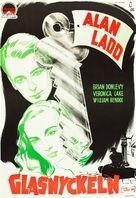 The Glass Key - Swedish Movie Poster (xs thumbnail)