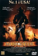 The Musketeer - Danish Movie Cover (xs thumbnail)