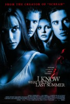 I Know What You Did Last Summer - Movie Poster (xs thumbnail)