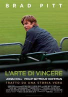 Moneyball - Italian Movie Poster (xs thumbnail)