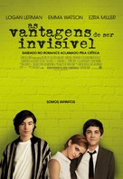 The Perks of Being a Wallflower - Portuguese Movie Poster (xs thumbnail)
