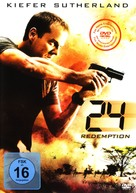 24: Redemption - German DVD movie cover (xs thumbnail)