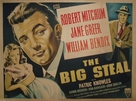 The Big Steal - British Movie Poster (xs thumbnail)
