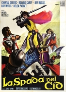 La spada del Cid - Italian Movie Poster (xs thumbnail)