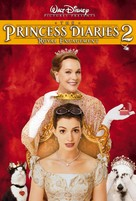 The Princess Diaries 2: Royal Engagement - DVD movie cover (xs thumbnail)