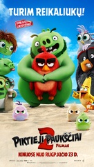The Angry Birds Movie 2 - Lithuanian Movie Poster (xs thumbnail)