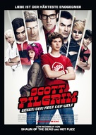 Scott Pilgrim vs. the World - German Movie Poster (xs thumbnail)