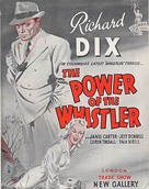 The Power of the Whistler - British Movie Poster (xs thumbnail)