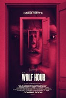The Wolf Hour - Movie Poster (xs thumbnail)