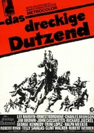 The Dirty Dozen - German Movie Poster (xs thumbnail)