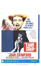 I Saw What You Did - Movie Poster (xs thumbnail)